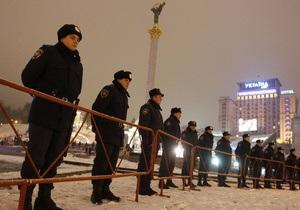 Милиция: В результате демонтажа палаточного городка на Майдане никто не пострадал