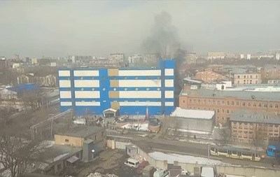 В Москве в торговом центре возник пожар