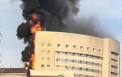 У Стамбулі загорілася лікарня