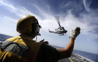 В Италии в море упал вертолет ВМС, есть жертвы