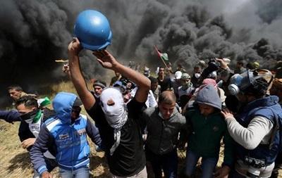 Новые столкновения на границе сектора Газа и Израиля, есть жертвы