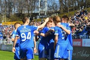 Динамо отправило четыре мяча в ворота Зари
