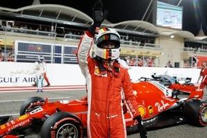 Феттель виграв кваліфікацію в Бахрейні