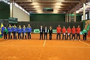 Сборная Украины сыграет c Португалией в Кубке Дэвиса