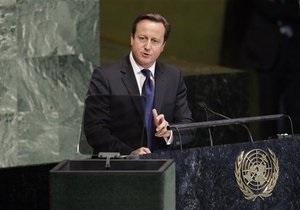 Премьер Великобритании попросил глав государств приехать на саммит G-8 без жен - СМИ