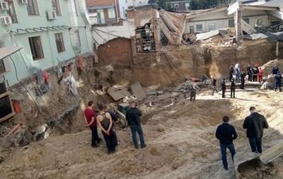 Обвал на будівництві у Вінниці: троє постраждалих