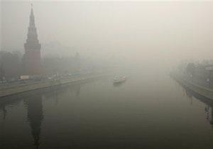 Дождь рассеял дым от лесных пожаров в Москве