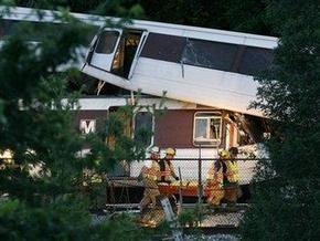 При столкновении поездов в вашингтонском метро погибли шесть человек,  не менее 75 получили ранения