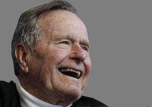 Хакер взломал личную почту Джорджа Буша-старшего