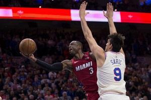 НБА: Филадельфия уступила Майами, Голден Стэйт играет с Сан-Антонио