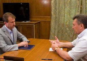 Янукович и Попов обсудят стратегию развития Киева