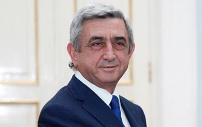 На посту. Прем єром Вірменії обраний Серж Саргсян