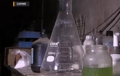 Российские военные заявили, что нашли склад веществ для химоружия в Думе