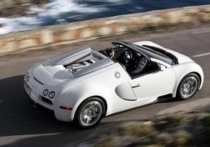 Bugatti выпустит всего восемь кабриолетов Veyron