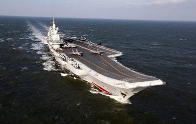У Китаї визнали дефектним куплений в України авіаносець Варяг