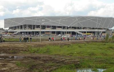 Біля стадіону Арена Львів знайшли понад 20 боєприпасів