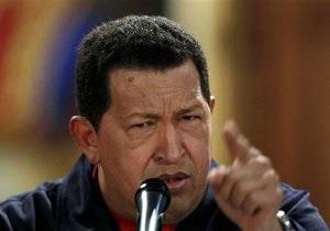 Чавес пригрозил США разрывом отношений
