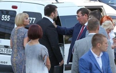 НАБУ обязали расследовать нарушения во время свадьбы сына Луценко