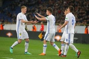 Динамо разгромило Верес во Львове