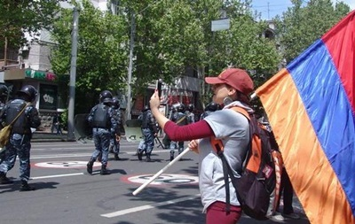 Протести в Єревані: затримано 280 осіб