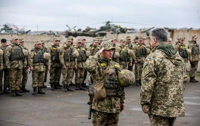ВСУ в десятке сильнейших армий Европы − Порошенко