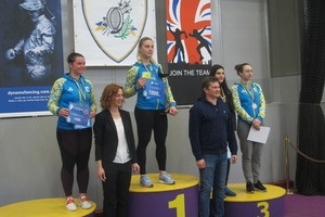 Харлан стала чемпіонкою України