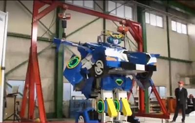 В Японии создали робота-трансформера