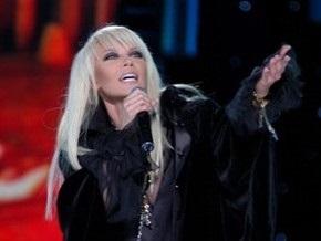 Таисия Повалий упала со сцены во время концерта в Тель-Авиве