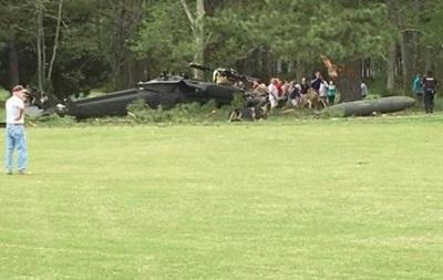 В США разбился вертолет: трое погибших