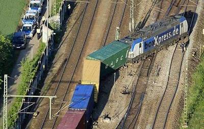 В Германии поезд сошел с рельсов, ущерб оценили в миллионы евро