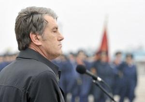 Ющенко: Сдача национального интереса начнется с вечного пребывания ЧФ РФ в Крыму