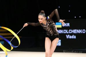 Юная украинская гимнастка собрала полный комплект медалей на этапе Кубка мира
