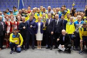 Сборная Украины выиграла  Турнир четырех  в Харькове