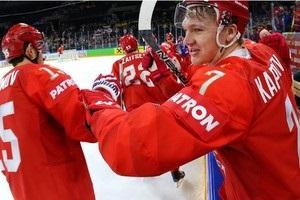 ЧМ по хоккею: Россия уничтожила Францию, США обыграла Канаду по буллитам