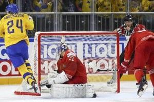 ЧС з хокею: Швеція розгромила Білорусь, Німеччина поступилася господарям