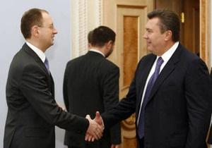 Яценюк отказал Януковичу