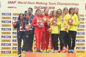 Украинские ходоки выиграли две медали чемпионата мира