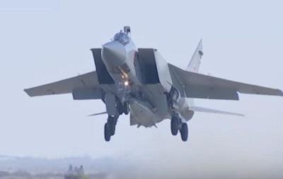 У Росії заявили про озброєння десяти літаків гіперзвуковими ракетами
