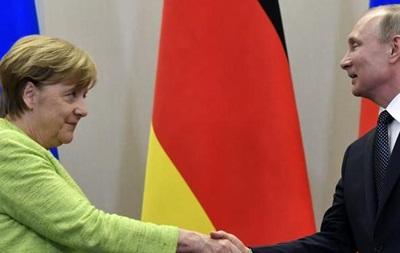 Стала известна дата встречи Меркель и Путина