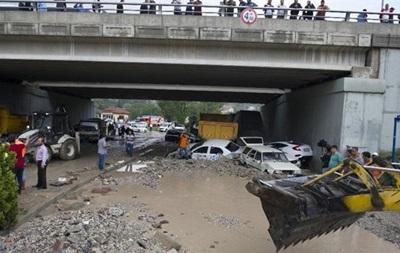 В Турции произошло мощное наводнение