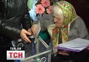 В Крыму женщина проголосовала в день своего столетия