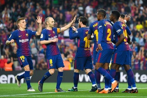 Барселона сыграет товарищеский матч в честь 100-летия со дня рождения Манделы