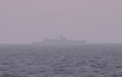 Российский фрегат установил наблюдение за авианосцем США