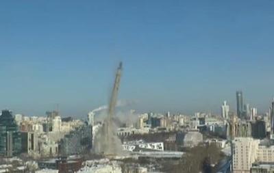 У російському Єкатеринбурзі знову підривали телевежу
