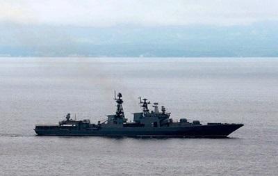 Військові кораблі РФ підійшли до Латвії