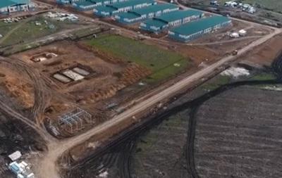 Военный городок на полигоне Широкий лан откроют до конца года