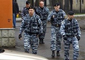 Полиция задержала подозреваемого во взрыве на территории Дома-2