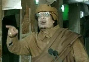 Каддафи призвал ливийцев собраться у его резиденции в Триполи