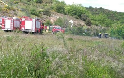 В Испании разбился легкомоторный самолет, есть жертвы