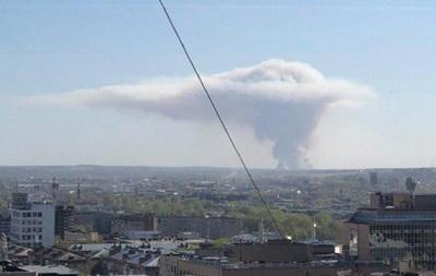 Взрывы снарядов в РФ: в небе образовался  гриб